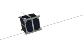 Nano-satellite Robusta 1B