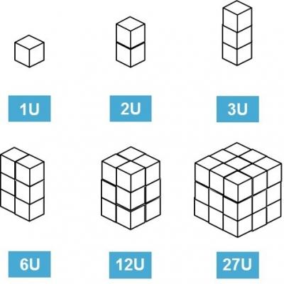 Les différents cubesats